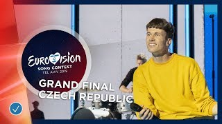 Czech Republic - LIVE - Lake Malawi - Friend Of A Friend - Grand Final - Eurovision 2019