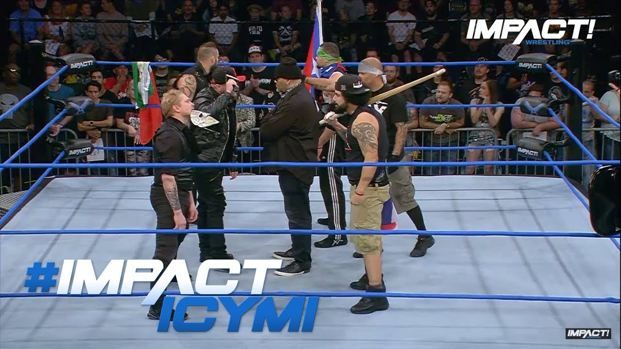 Download oVe & LAX Face to Face First Time Since Barbed Wire Massacre | IMPACT! Highlights Feb. 1st, 2018