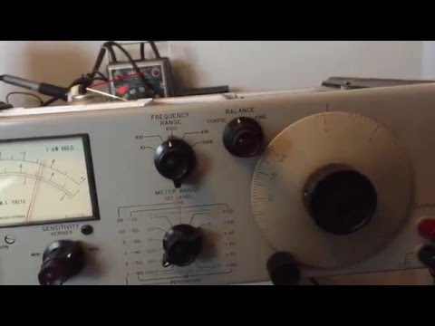 HP 331A Distortion analyzer repair and calibration Mini Documentary