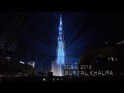 Dubai LaSer show 2018 |Burj Khalifa| [FULL HD 1080]