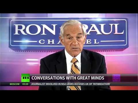 Full Show 8/19/13: Ron Paul special guest in Conversations w