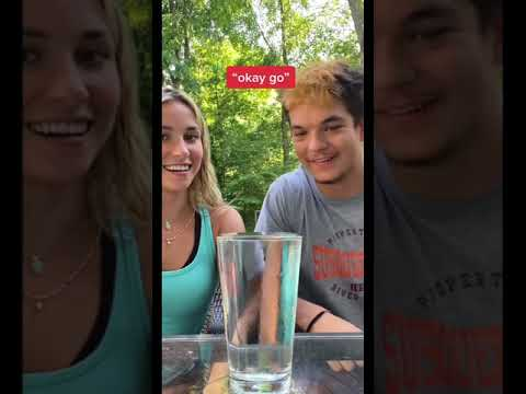 WATER CUP CHALLENGE😂 watch till the end… #shorts