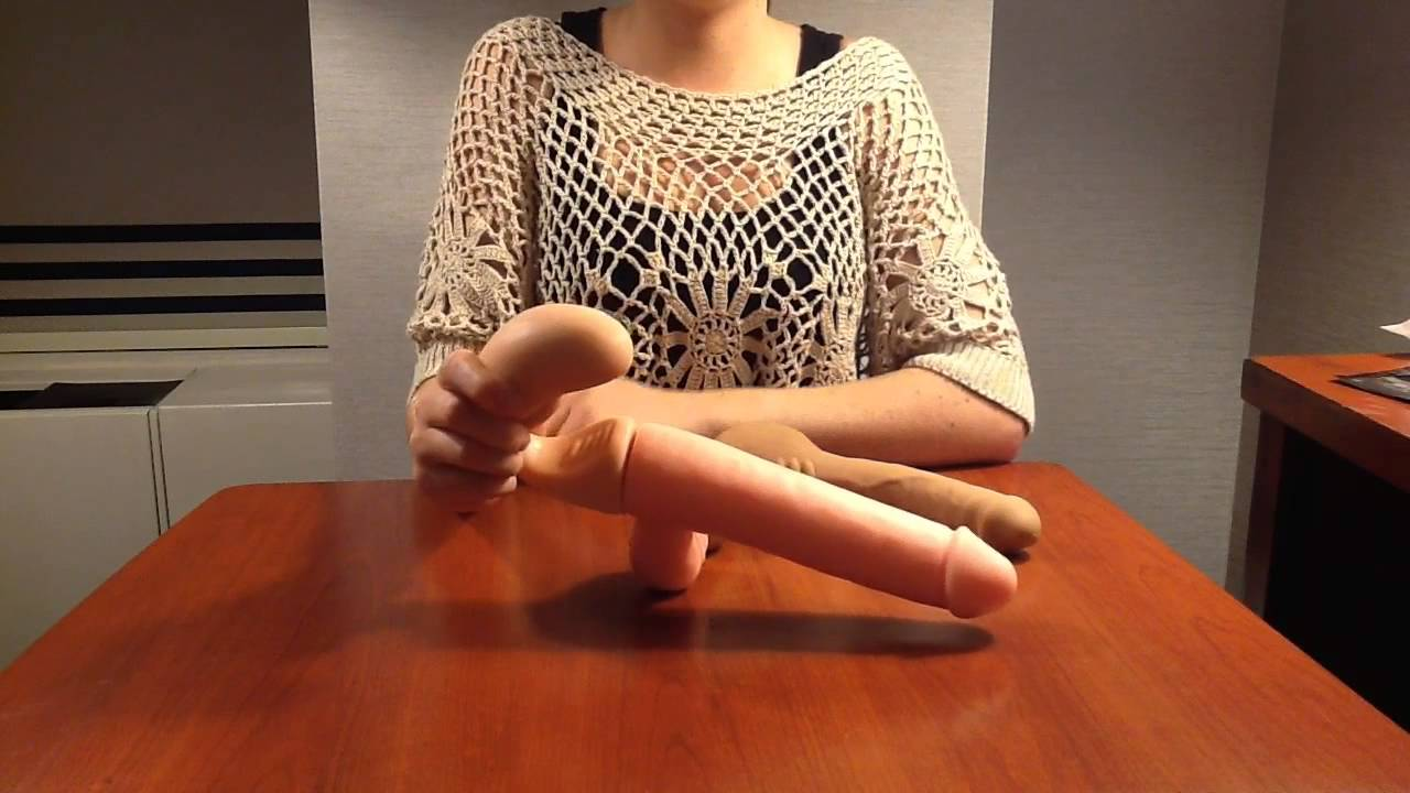 Girlfriend forced dildo