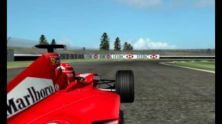 F1 2000 Indianapolis Grand Prix full Race Formula 1 Season Mod F1 Challenge 99 02 game year F1C 2 GP 4 3 World Championship 2013 2014 2015 2016 2012 10 26