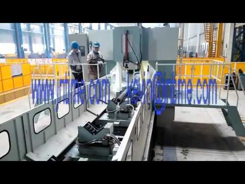 CNC tube sheet & baffle stack drilling machine