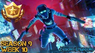 Season 9 Week 10 Secret Fortbyte #33 Location - Fortnite Battle Royale