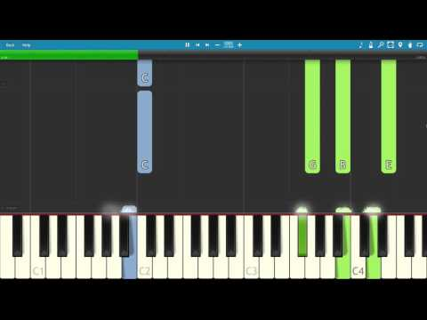 Kanye West - Father Stretch My Hands Pt. 1 {The Life of Pablo} - Piano Tutorial