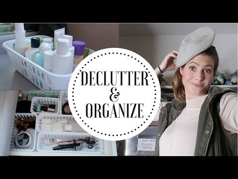 EXTREME ORGANIZE AND DECLUTTER WITH ME 2019 // Get Organized in 2019