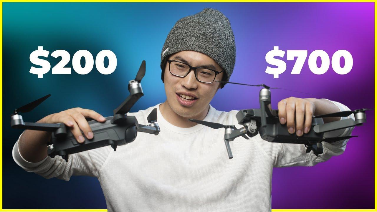 Download Cheap $200 Amazon Drone vs DJI Mavic Pro