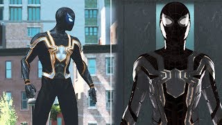 Spider-man Homecoming: IRON SPIDER Black Suit - The Amazing Spider-man 2(PC)