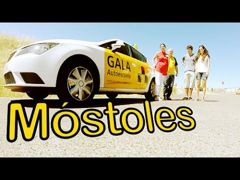 Autoescuela Gala: Clase de Conducir  a tiempo REAL en grupo por Móstoles, Madrid.