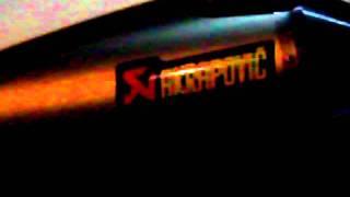 BMW G 650 X Challenge AKRAPOVIC Titanium Sound check
