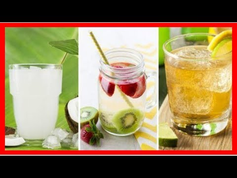 Cleanse your body and lose weight with the 5 water purification