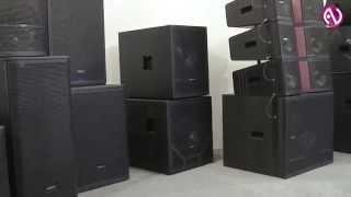 Audiocenter: линейные массивы и усилители на Prolight + Sound NAMM Russia 2014