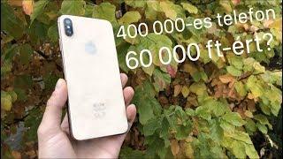 iPhone XS Max 60 000 forintért?! (KLÓN unboxing és teszt)