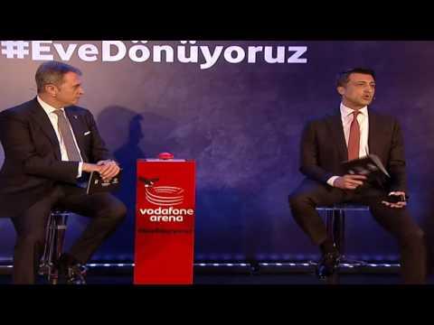 Fikret Orman ve Gökhan Öğüt Vodafone Arena Basın Toplantısı Tamamı 22 Mart 2016
