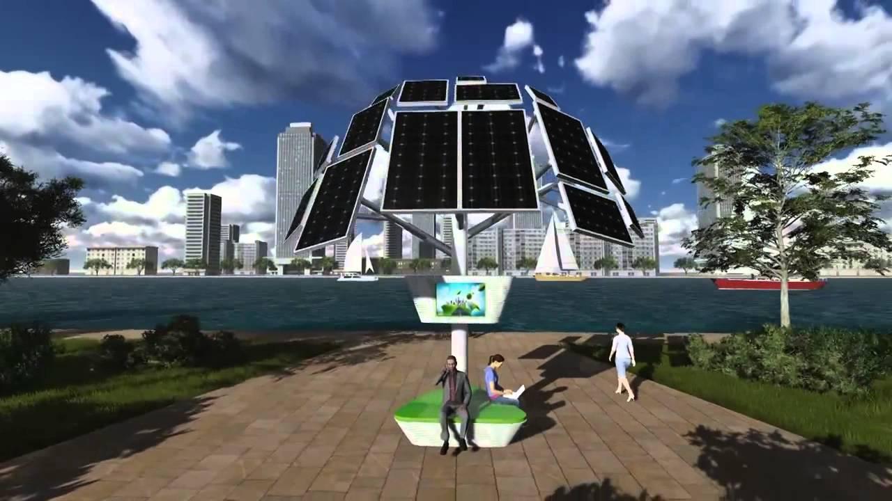Solar tree eco power association youtube solar tree eco power association sciox Image collections