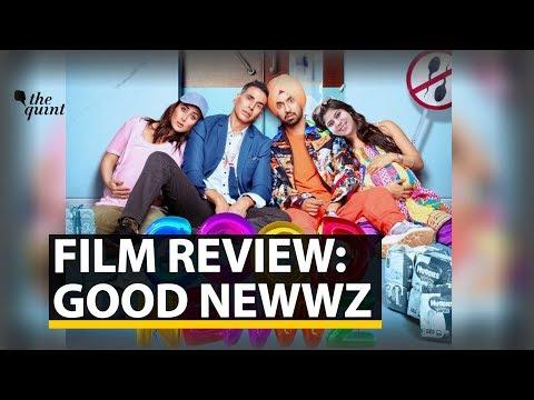 Good Newwz Film Review | Rj Stutee Review Akshay & Kareena's Good Newwz | The Quint