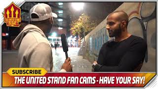 Mourinho is a BIG problem!  Valencia 2-1 Manchester United Fan Cam