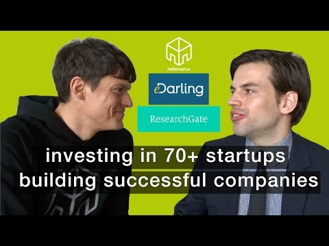 Build successful companies & investing in 70+ startups, Christian Vollmann