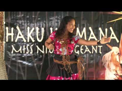 Niuean Dance by Miss Niue 2013, Miss Nina Erica Nemaia