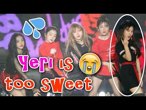 Red Velvet YERI feels sorry for the Fans drenched in the Rain @ Dream Concert 2018 레드벨벳 예리 드림콘서트