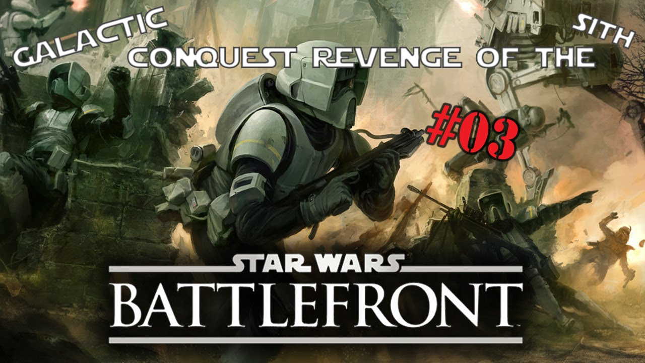 Star Wars Battlefront 1 Galactic Conquest Revenge Of The Sith Cis Mission Tatooine Youtube