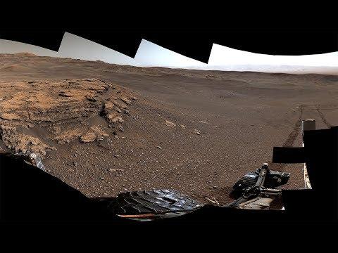 NASA's Curiosity Mars Rover Explores Teal Ridge (360 View)