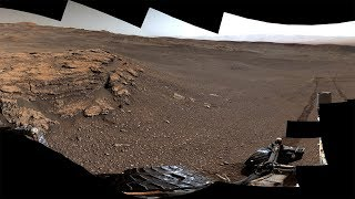 NASA's Curiosity Mars Rover Explores Teal Ridge (360 View)