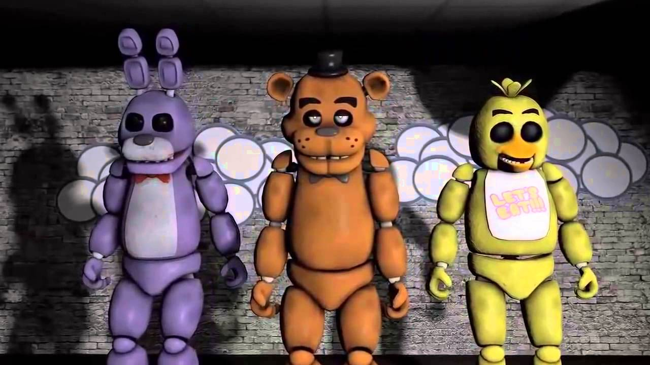 Five Nights At Freddy S Cinco Noites No Freddy S Musica Youtube