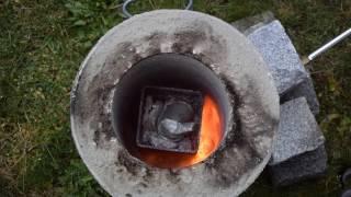 Schmelzofen selber bauen | Aluminium schmelzen | DIY