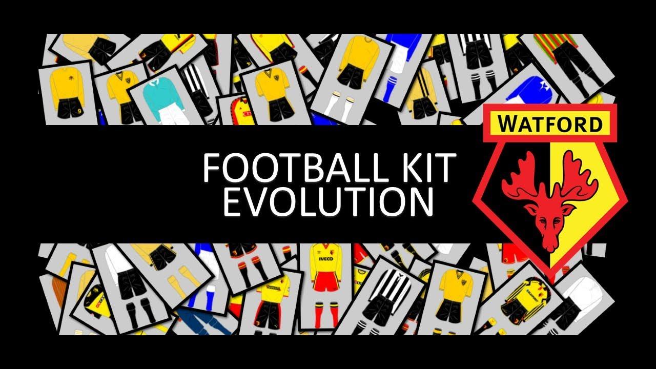 4c3370c693c History of Watford Football Kit - YouTube