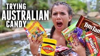 TRYING WEIRD AUSTRALIAN CANDY