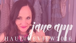 JANE APP STYLE FASHION HAUL: Haul / Review / Try on from the Jane app