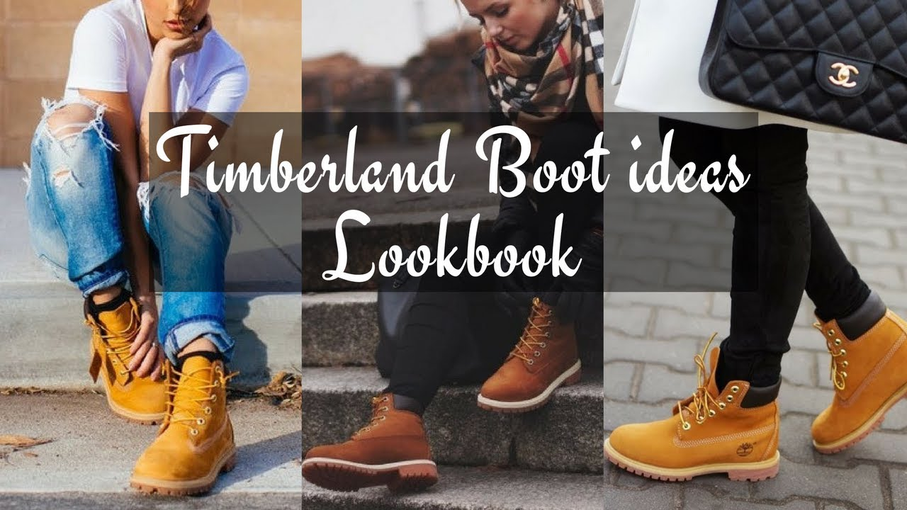 How To Style Women s Timberland Boots Winter 2018 - LOOKBOOK - YouTube 93332e3c19