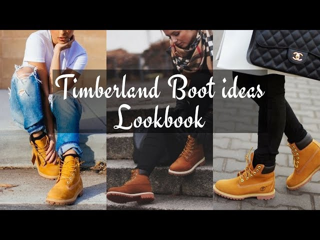 How To Style Women's Timberland Boots Winter 2018 - LOOKBOOK