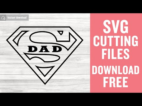 Free In this video, i'll be showing you how to create this super cool father's day art using card stock and cricut. Super Dad Svg Free Father S Day Svg Super Hero Svg Instant Download Silhouette Cameo Shirt Design Superman Svg Cutting Files 0833 Freesvgplanet SVG, PNG, EPS, DXF File