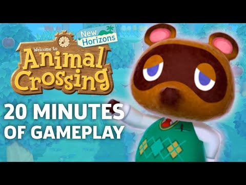 Animal Crossing: New Horizons Co-op Gameplay: 20 Minutes Of Off-Screen Footage