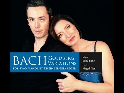 BACH - Goldberg Variations for Two Pianos - Nina Schumann & Luis Magalhães TwoPianists