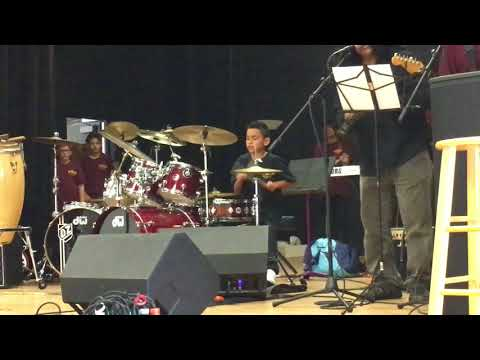 Andrew Benitez, 9 year old drummer, I'm A Man - Spencer Davis Group with Drum Solo