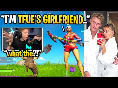 I got in a game with Tfue's GIRLFRIEND and THIS happened... (Corinna Kopf)