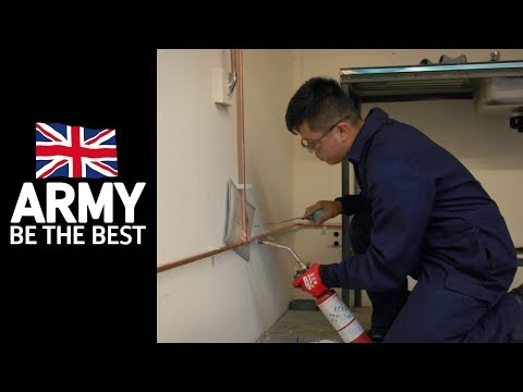 Heating and Plumbing - Roles in the Army - Army Jobs