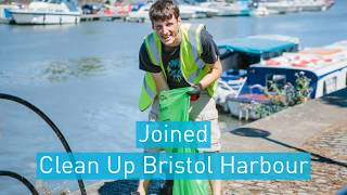 Project AWARE joins Clean Up Bristol Harbour