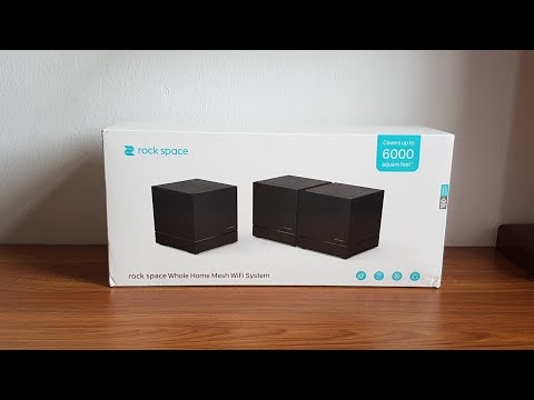 Rock Space Whole Home WiFi Mesh System [ REVIEW & UNBOXING ]