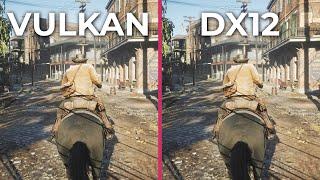 Red Dead Redemption 2 – PC DX12 vs. Vulkan 4K RTX 2080 Ti Benchmark FPS Test