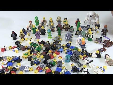 400+ LEGO Minifigures Unboxing!!!
