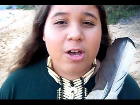 "Chief's Son, 7th Generation, Speaks ""NO MORE GMO's!"