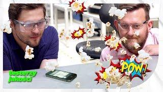 Popcorn uprażony telefonem - czy to możliwe?