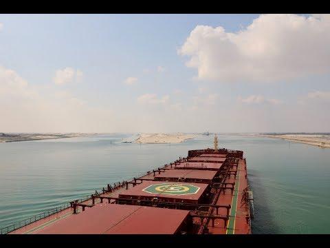 Suez Canal Transit | 4K