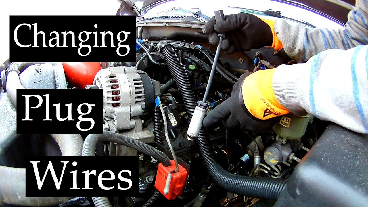hight resolution of how to change spark plug wires on chevy silverado